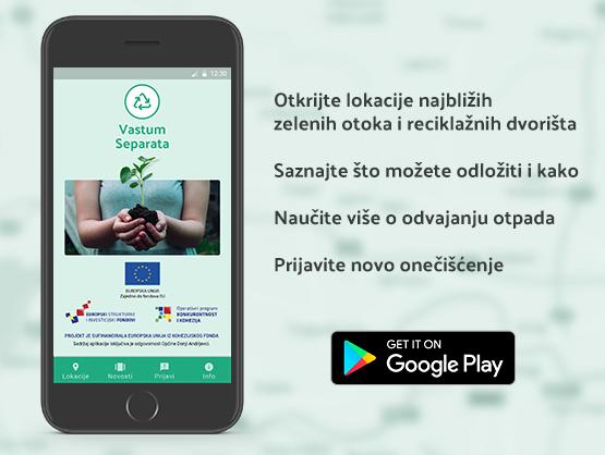 Vastum Separata - Mobilna aplikacija
